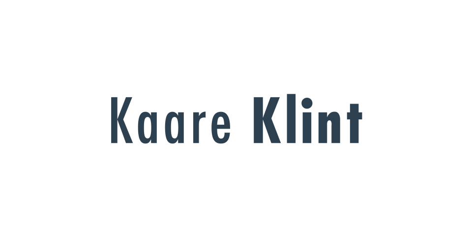 Kaare Klint Our Publications