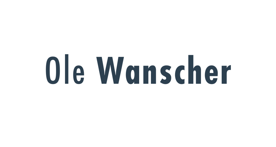 Ole Wanscher Our Publications
